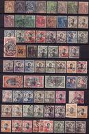 20960# INDOCHINE 5 SCANS LOT TIMBRES ** * & Oblitérés états Divers Cote +240€ Nombreux Non Comptés - 1912-1949 République