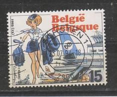 COB 2528 Oblitération Centrale SCHOTEN Natacha - Bélgica