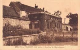 89 ABBAYE DE PONTIGNY PAVILLON DE L'ENCYCLOPEDIE - Pontigny