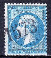 France-Yv 22, GC 1573 Fouvent-le-Haut - Storia Postale (Francobolli Sciolti)