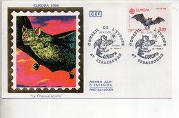 REF X22 : Enveloppe 1er Jour First Day Cover FDC Europa La Chauve Souris - Non Classificati