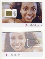 GSM SIM Carte Avec Puce___T-Mobile Austria___Brasilian Girl___rare - Autriche