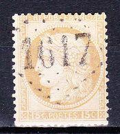 France-Yv 55, GC 1617 Gamaches - Marcophilie (Timbres Détachés)