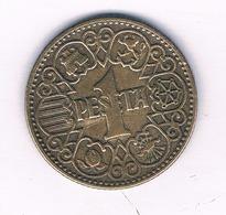 1 PESETA 1944 SPANJE  /3257/ - [4] 1939-1947: Nationalistische Regierung
