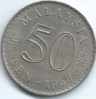 Malaysia - 50 Sen - 1968 - KM5.1 (Security Edge) - Malasia