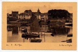 Ile D'Yeu-Le Port Et L'Eglise - Ile D'Yeu