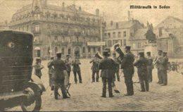 FELDPOST Sedan Ardennes, Militärmusik, Deutsche Militärkapelle Auf Dem Marktplatz  14/15 WWI WWICOLLECTION - Sedan