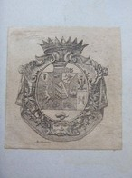 Ex-libris Héraldique Italien XVIIIème - BORROMEO-ARESE (Milan) - Bookplates