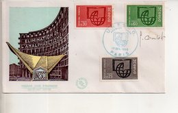 REF X22 : Enveloppe 1er Jour First Day Cover FDC UNESCO 1966 Signature Du Graveur Combet - Sin Clasificación