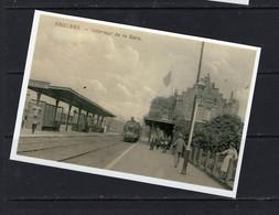 REPRODUCTION BAULERS NIVELLES BRABANT WALLON GARE Train Trein - Bahnhöfe Mit Zügen