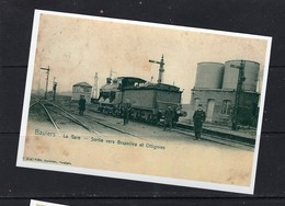 REPRODUCTION BAULERS NIVELLES BRABANT WALLON GARE Train Trein - Nivelles