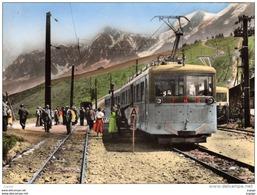 SAINT-GERVAIS-LES-BAINS - Col De Voza - T.M.B.Tramway Du Mont  Blanc   2 Scans  TBE - Saint-Gervais-les-Bains
