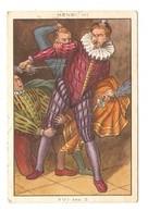 CHROMO BLÉDINE DIASE JACQUEMAIRE - LE ROI HENRI III  LE COSTUME à TRAVERS Les AGES - FRAISE PANSE PANSERON LODIERS - Confiserie & Biscuits