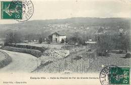 CPA 78 Yvelines L'Etang La Ville - Halte Du Chemin De Fer De Grande Ceinture - Other Municipalities