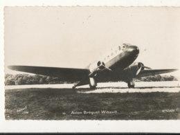 AVIATION )) CPSM Petit Format / Avion BREGUET WIBAULT  EDIT JIM - Avions