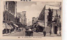 Maroc : édit. Cap N° 48 : Casablanca Rue De L'Horloge - Casablanca