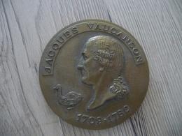 Médaille De Table Monnaie De Paris Jacques Vaucanson 145 G Diam 7 Cm - Professionnels / De Société
