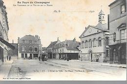 51     Ay En Champagne          Rue De Chalons - Place De L'hotel De Ville - Ay En Champagne