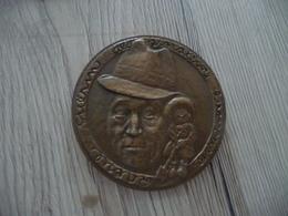 Médaille De Table Monnaie De Paris Guérin Graveur Salmoier   158 G Diam 6.8 Cm - Professionnels / De Société