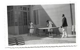 Photo Originale    BANDOL SUR MER -Grand Hotel BEAU RIVAGE 24  Juin 34 Terrasse - Personnes Anonymes