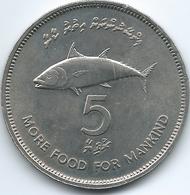 Maldives - AH1397 - 1977 - 5 Rufiyaa - FAO - KM55 - Maldives
