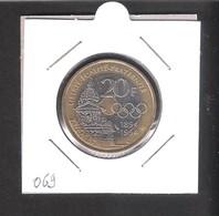 20 F Pierre De Coubertin 1994 (100 Ans Des J.O.) - L. 20 Francs