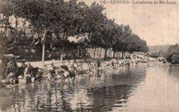 CPA   PORTUGAL---PORTO---LEIXOES---LAVADEIRAS NO TION LECA----ATTENTION TACHEE MAIS TRES RARE ? - Porto