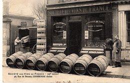 92 - COURBEVOIE - SOCIETE DE VINS DE FRANCE - 40 RUE DE BEZON - 1495 - Courbevoie