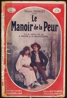 Marcel  Priollet - Le Manoir De La Peur - Éditions Jules Tallandier - ( 1927 ) . - Libri, Riviste, Fumetti