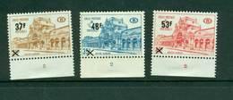 Belgie - Spoorwegen  1970 Yv 403-405 MNH Met Plaat Planche No. - Bahnwesen