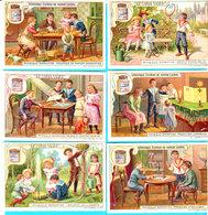 Chromos LIEBIG Série S 777 Série Complète De 6 Chromos : PHYSIQUE ENFANTINE - 1904 - Bon état Général - 2 Scans - Liebig