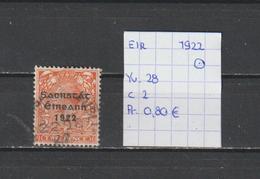 Eire 1922 - Yv. 28 Gestempeld/oblitéré/used - Gebraucht