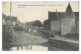 MONTREUIL-SUR-BRÈCHE (Oise, 60) La Ferme Des Tourelles  - Un Groupe De Soldats - 1918 - France