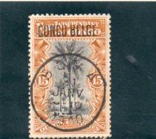 CONGO BELGE 1908 O - Belgian Congo