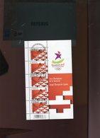 Belgie 2010 4045 Singapore Youth Olympics Velletje FDC Gestempeld OCB 20€ Plaatnummer 1 - Panes