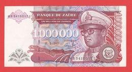 ZAIRE  Billet  1.000.000 Zaires  15 05 1993  Pick 45a  UNC - Zaire