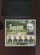 Belgie 2009 3969 Pater DAMIAAN PERE DAMIEN Velletje FDC Gestempeld OCB 20€ Plaatnummer - Panes