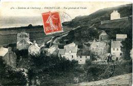 N°6182 -cpa Omonville -vue Générale Et L'école- - Frankrijk