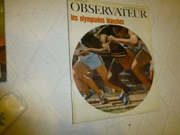 Le Nouvel Observateur Octobre 1968, Les Olympiades Blanches ; RV01 - Politics