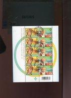 Belgie 2009 3882/83 Boel Boeykens Velletje FDC Gestempeld OCB 23€ Plaatnummer 1 - Panes
