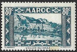 MAROC  1939-42  -  YT  180  - Vallée Du Draa -  NEUF* - Unused Stamps