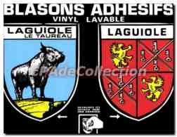 CPA Laguiole Aveyron Le Taureau - Laguiole