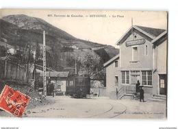 CPA 38 Seyssinet La Place Et Le Tramway Ligne De Grenoble Villard De Lans - Autres Communes