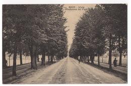 Cartolina-Postcard, Viaggiata (sent), Bra, Viale Madonna Dei Fiori - Cuneo