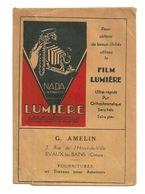 POCHETTE PHOTO FILM LUMIERE / G. AMELIN à EVAUX LES BAINS (23) - Supplies And Equipment