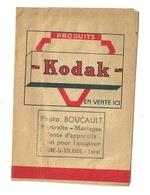 POCHETTE PHOTO KODAK / PHOTO BOUCAULT à BEAUNE LA ROLANDE (45) - Supplies And Equipment