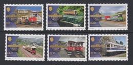 Isle Of Man  2018  - Europa CEPT - Manx Electric Railway- Full Set 6 Val (1 EUROPA Stamp - Bridges)  MNH** - 2018