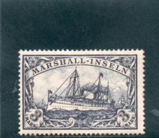 MARSHALL ISL. 1900 * - Kolonie: Marshall-Inseln