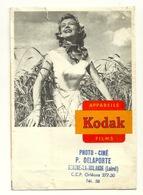 POCHETTE KODAK / PHOTO P. DELAPORTE à BEAUNE LA ROLANDE (45) - Material Y Accesorios