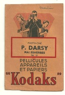 POCHETTE KODAK / PHOTO P. DARSY à MALESHERBES (45) - Supplies And Equipment